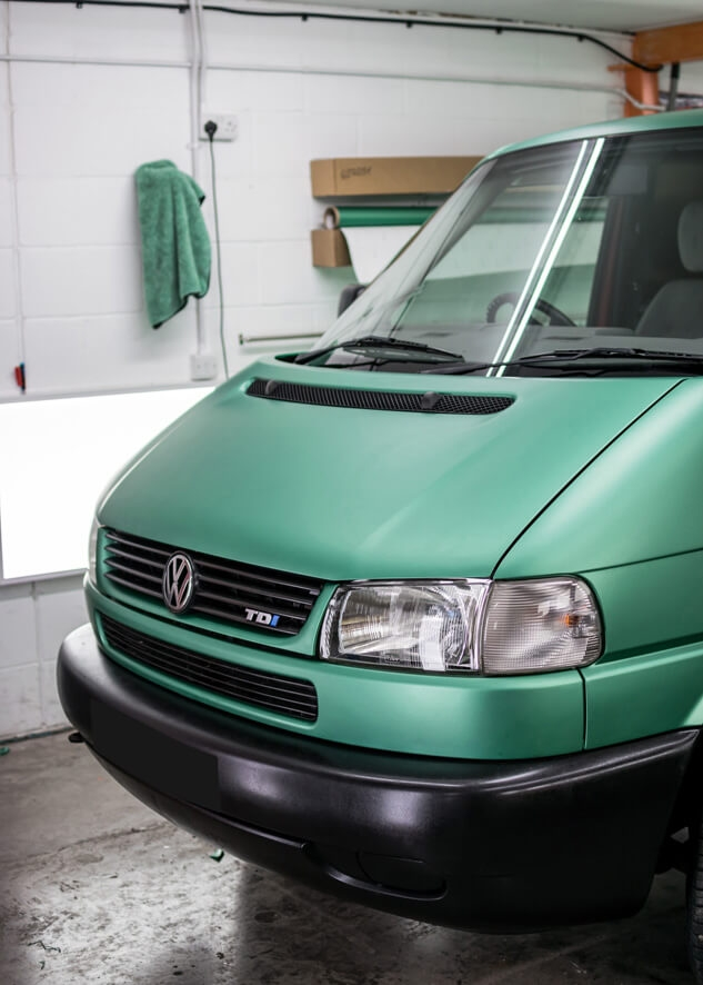 Volkswagen Transporter Vinyl Wrapping