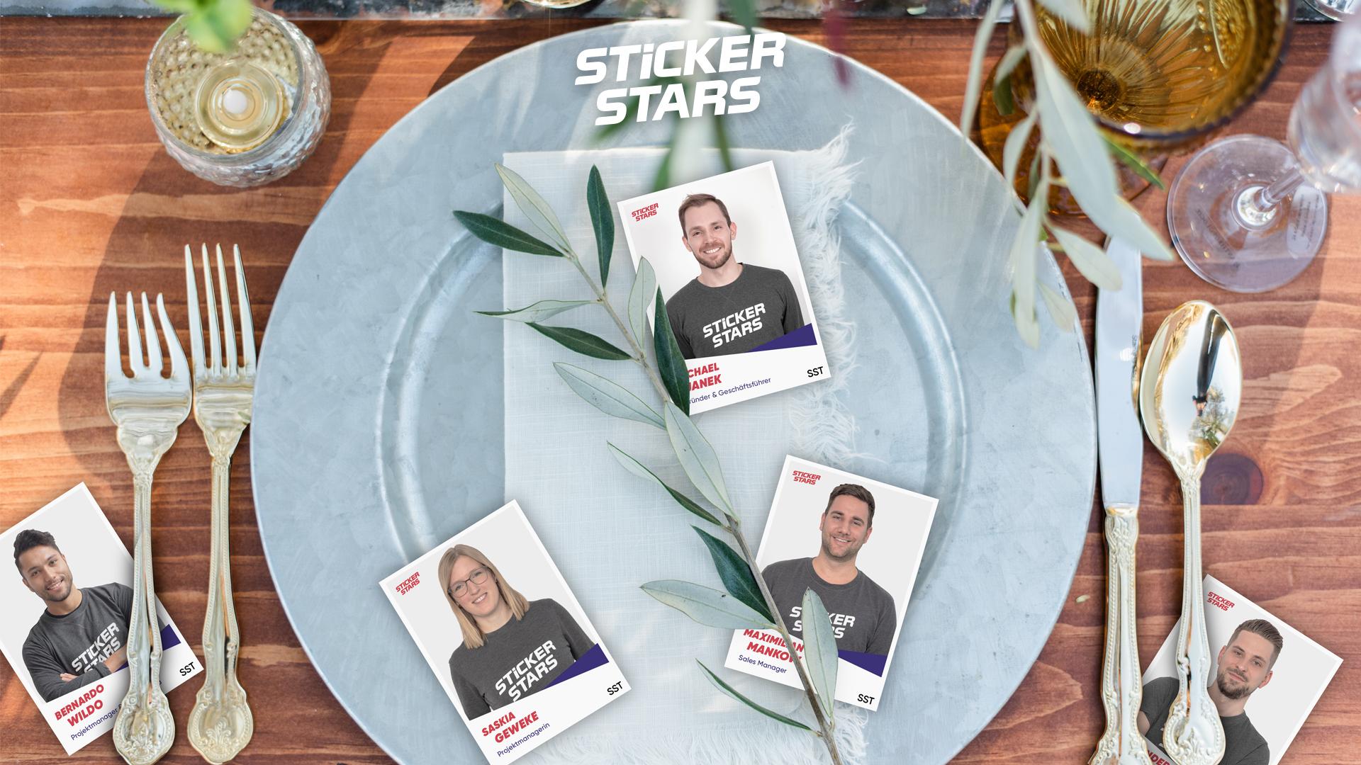 Außergewöhnliche Hochzeitsdeko: So kannst du unsere Sticker auch verwenden