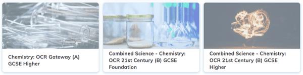 OCR GCSE Chemistry Revision
