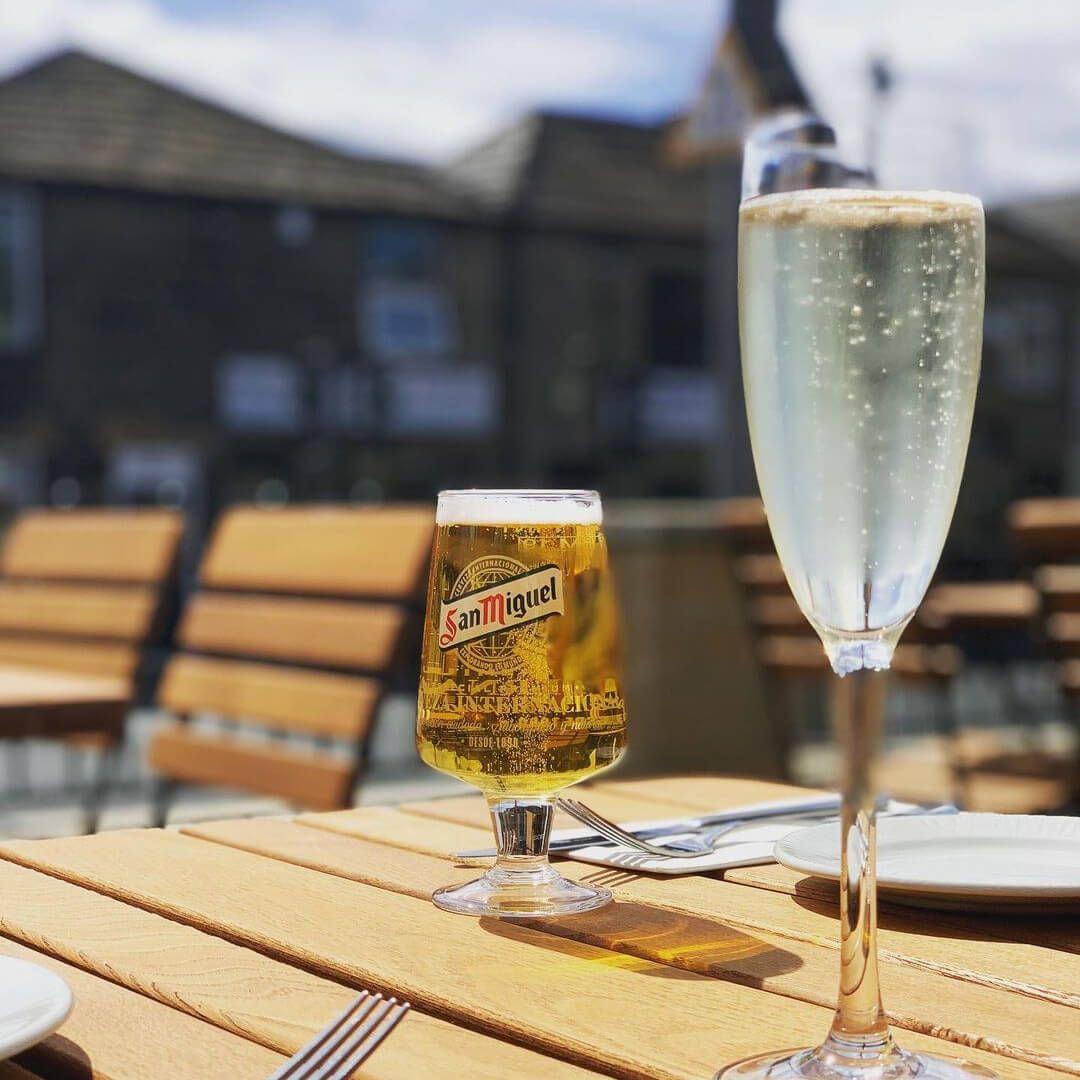 Escape Restaurant Horsforth Beer garden