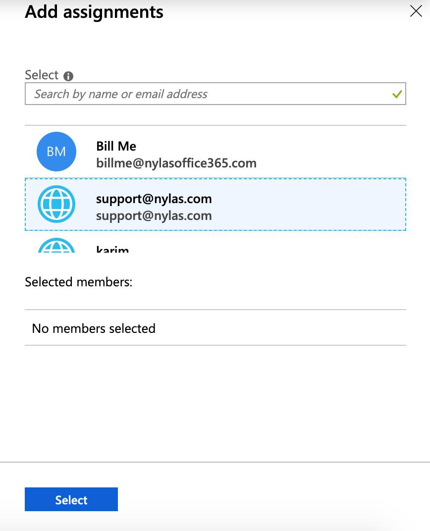 Azure application admin