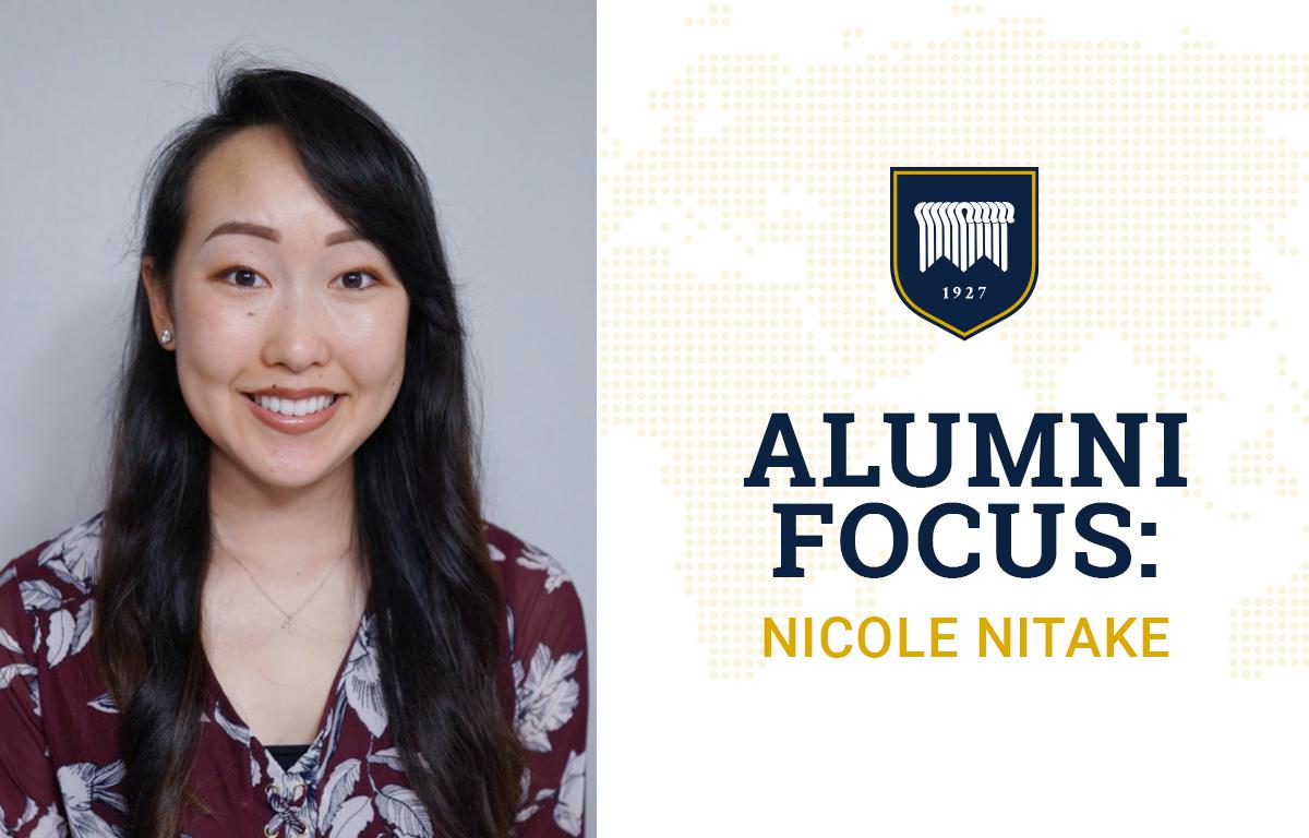 Alumni Focus: Nicole Nitake image