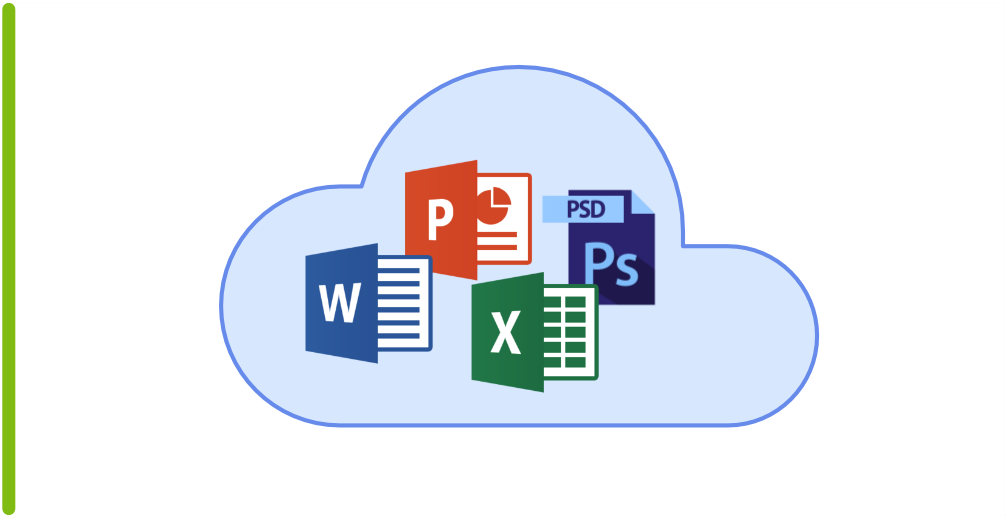 documents in a cloud
