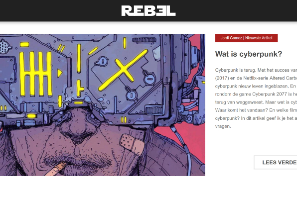 Screenshot of REBEL