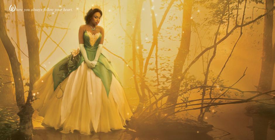 Disney Dream Portrait Princess Tiana