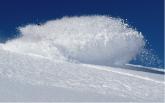 Snowboard camp powder