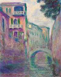 Monet's Le Rio de la Salute was sold by Christie's New York for $8.18 million in November 2017