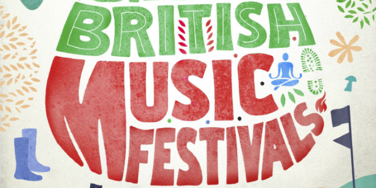 Edith Bowman's Great British music festivals by Edith Bowman