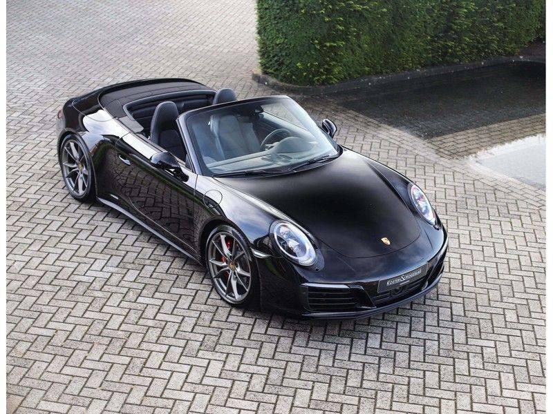Porsche 911 Cabrio Carrera 4S *ACC*Bose*Chrono*Vierwielbesturing*Camera*Vol!* afbeelding 7