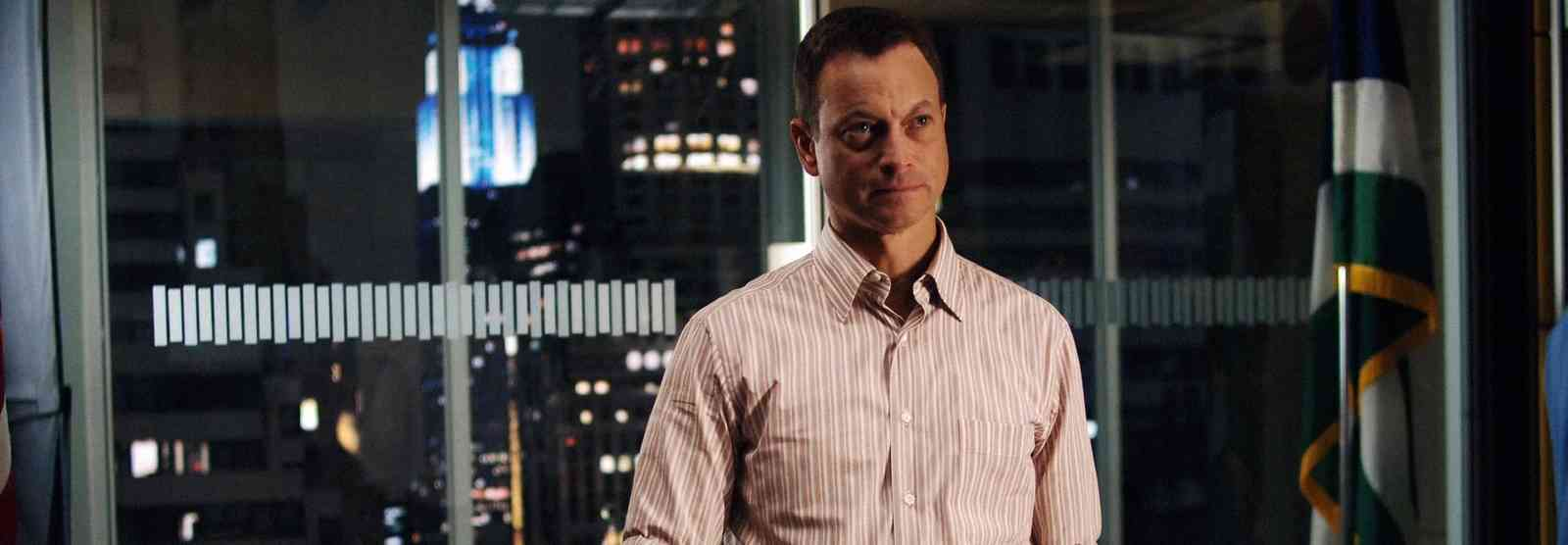 Gary Sinise as Detective Mac Taylor in CSI:NY