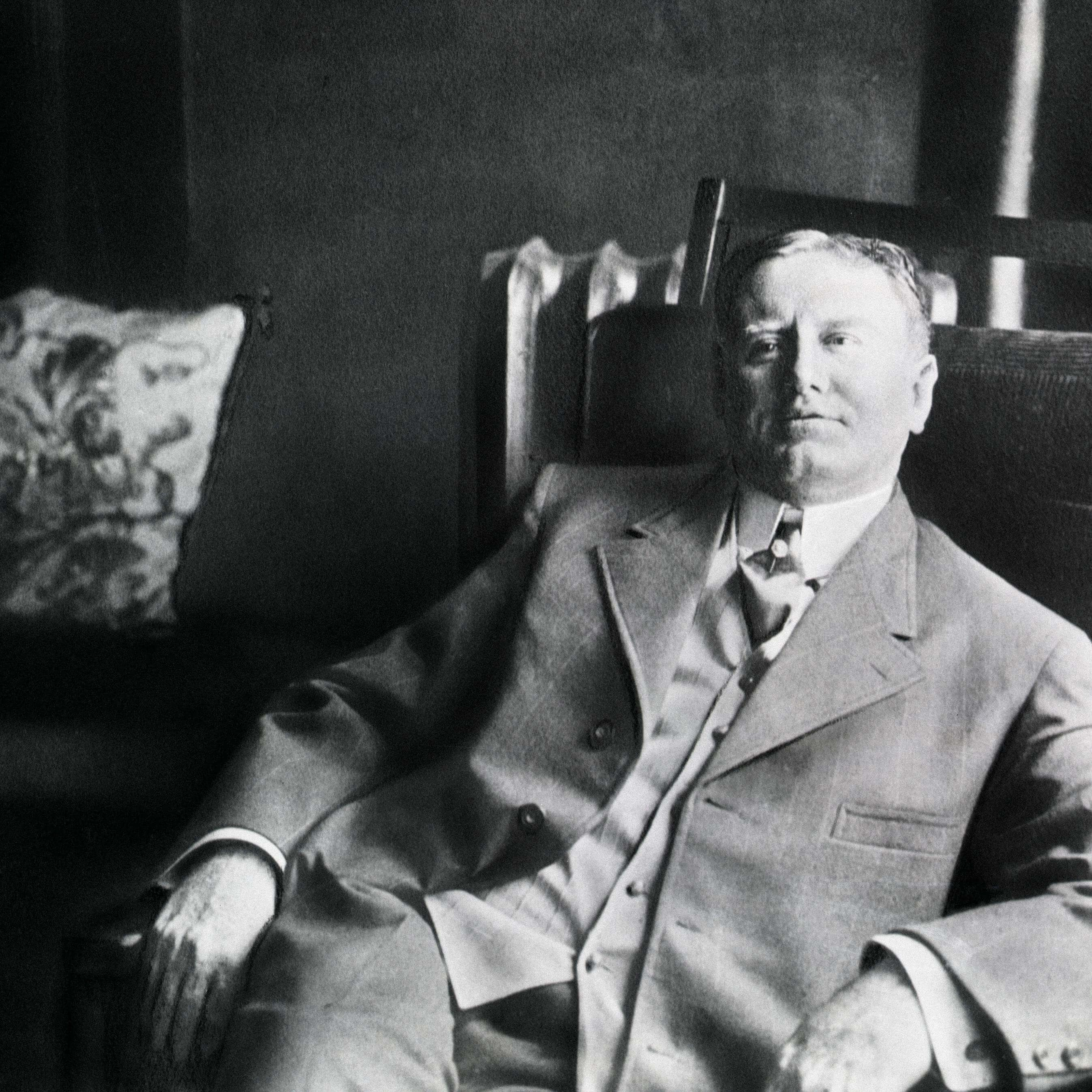 Уильям Портер, взявший псевдоним О. Генри. Источник: Bettmann Archive / Getty Images