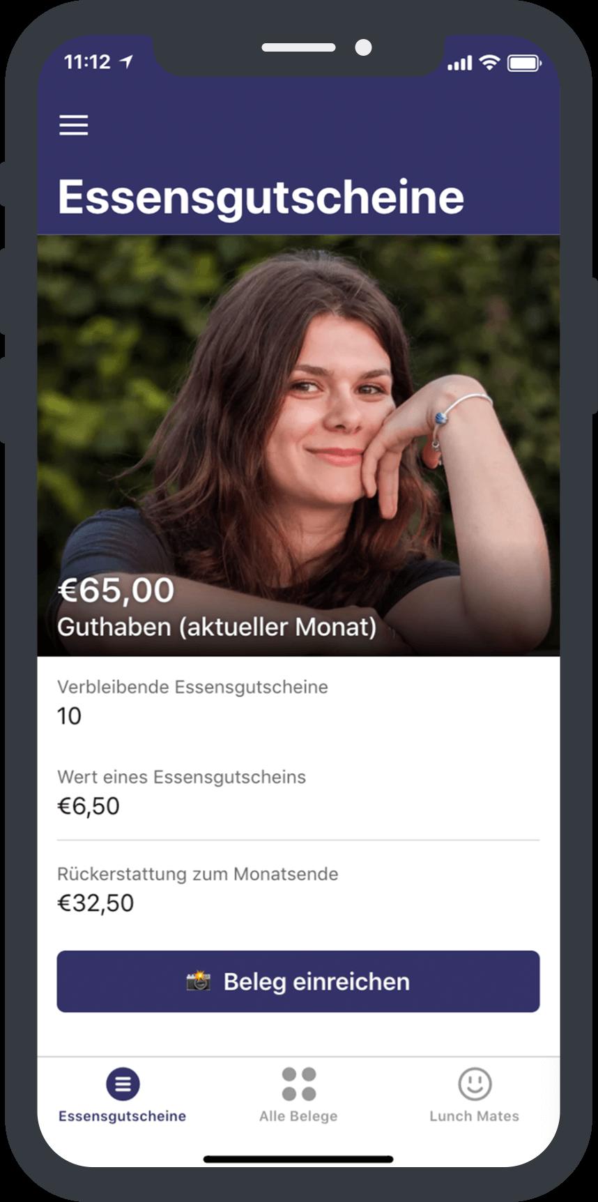 MateMateMate-App für MitarbeiterInnen