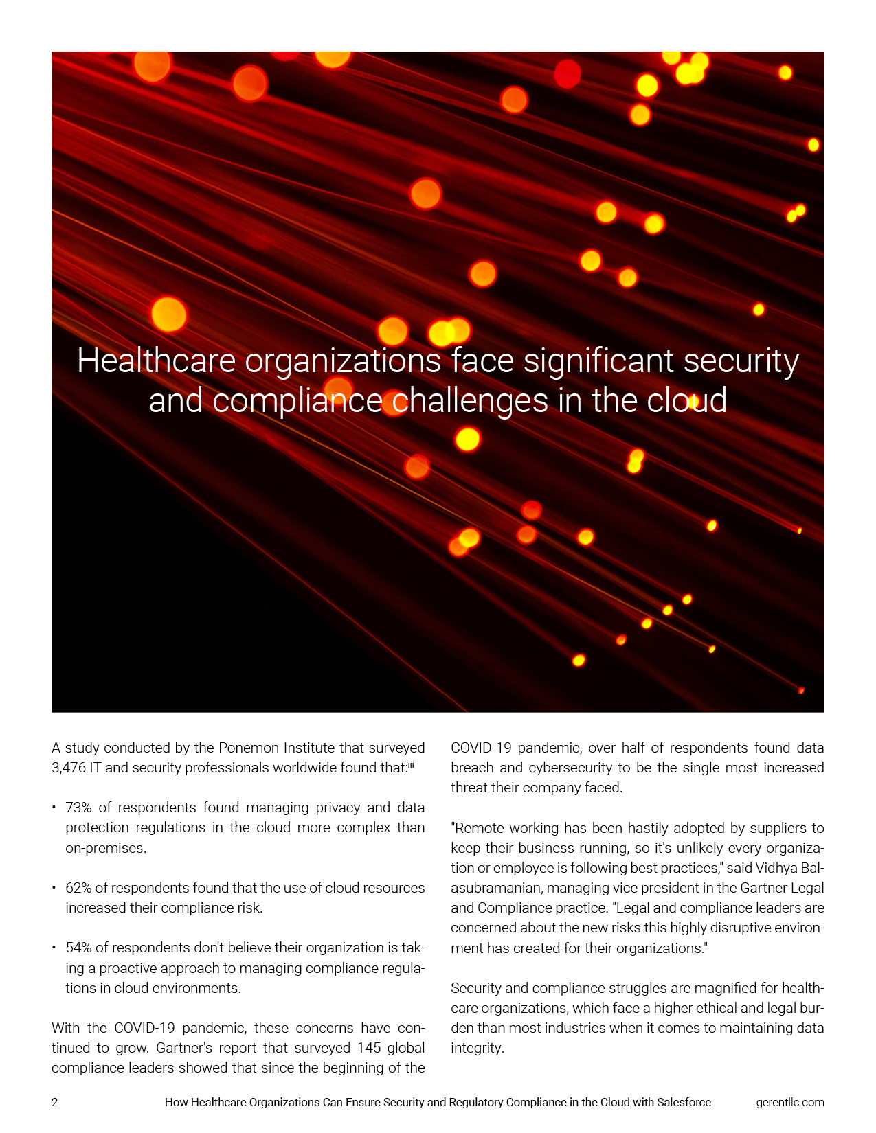 How Healthcare Organizations Can Ensure Security and Regulatory Compliance in the Cloud with Salesforce Left