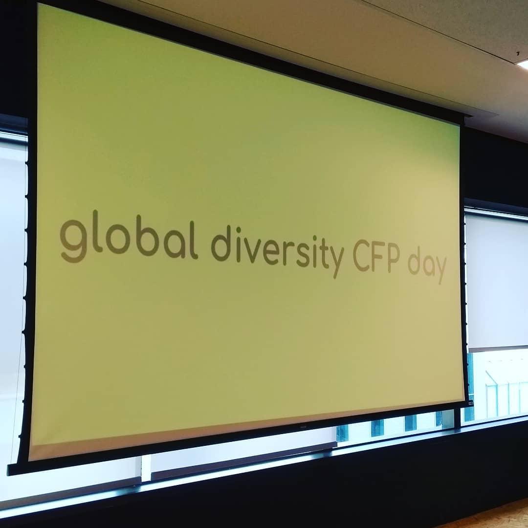 Imagem do logo do Global Diversity CFP Day