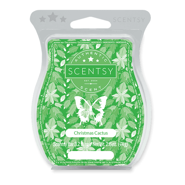 Picture of Christmas Cactus Scentsy Bar