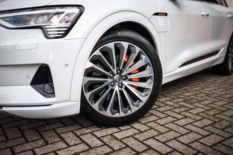 Audi e-tron 55 Quattro *Advanced / B&O / Pano / ACC / 4% Bijtelling €175,- P.M.* afbeelding 21