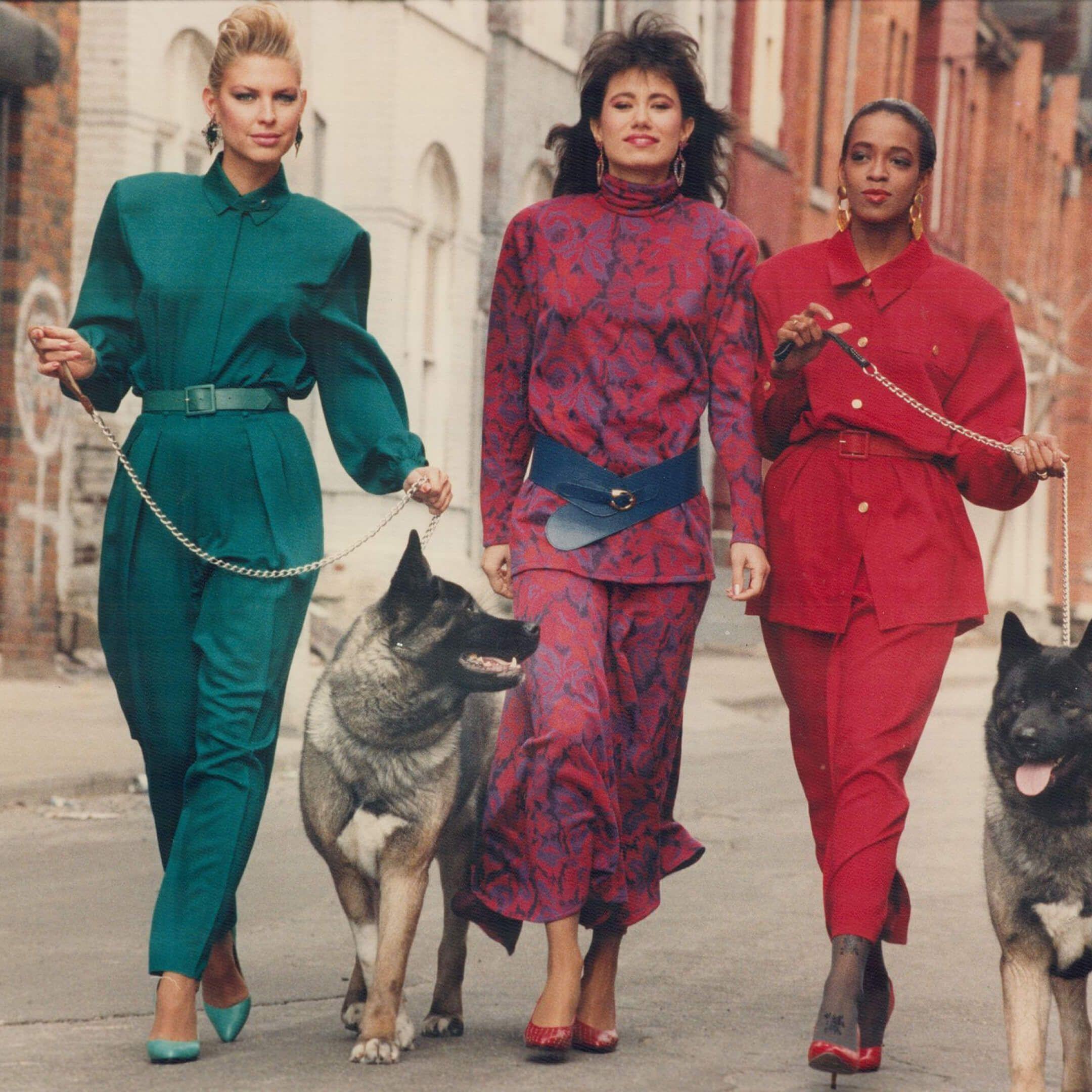 Мода 80-х годов / harpersbazaar.com