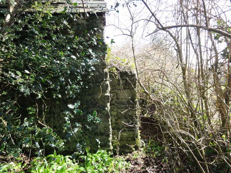Jubilee Farm - Remains of the old outside privy.