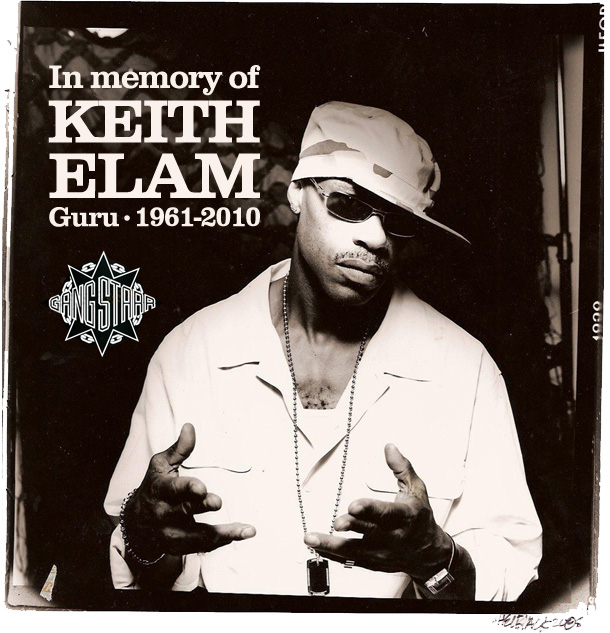In memory of Keith Elam Guru • 1961-2010
