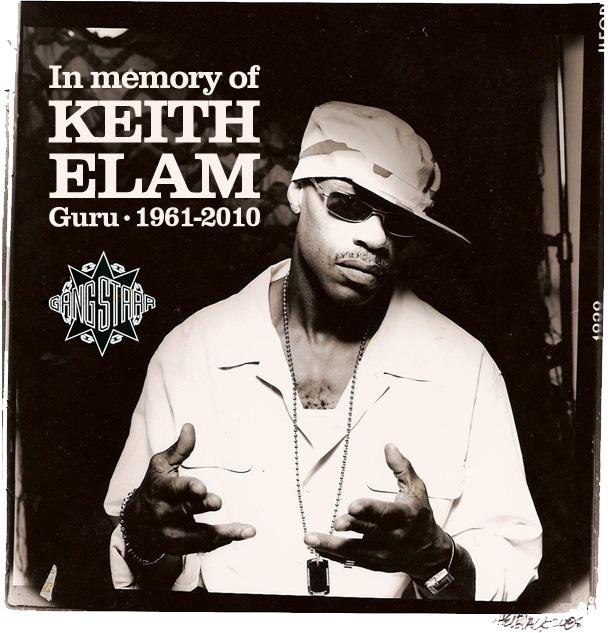 In memory of Keith Elam Guru • 1961-2010