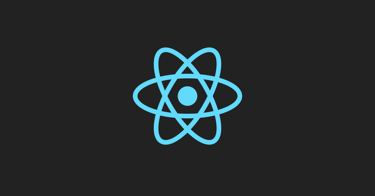 Logo do React