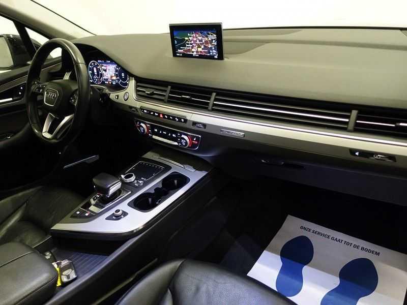 Audi Q7 3.0 TDI E-tron Quattro 374pk S-line Premium Autom- Pano, Virtual Cockpit, Bose, Leer, Camera afbeelding 6