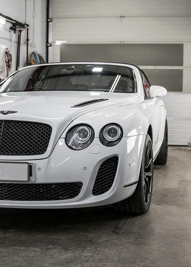 Bentley Continental GT Window Tinting