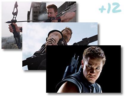 Hawkeye Avengers theme pack