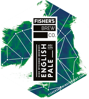 Fisher's English Pale Ale pump clip