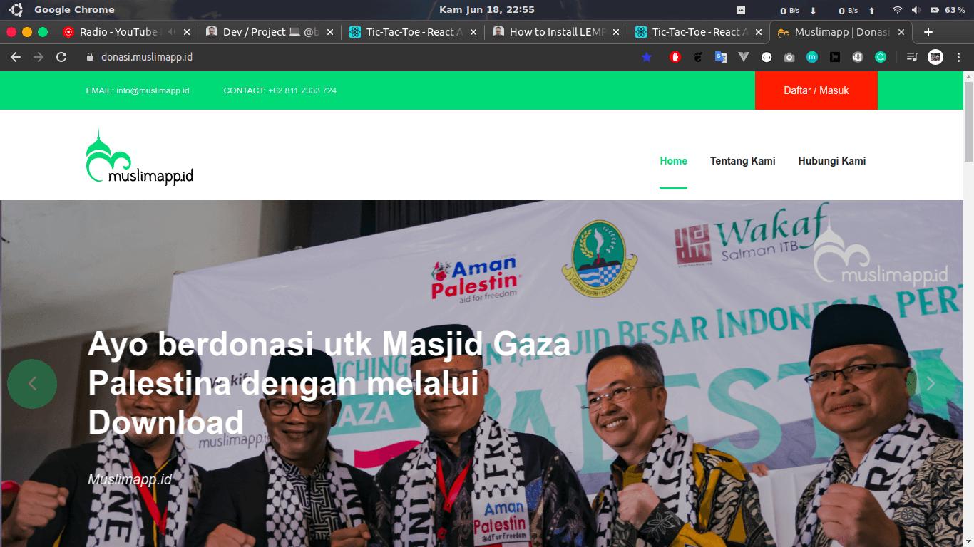 Donation Web