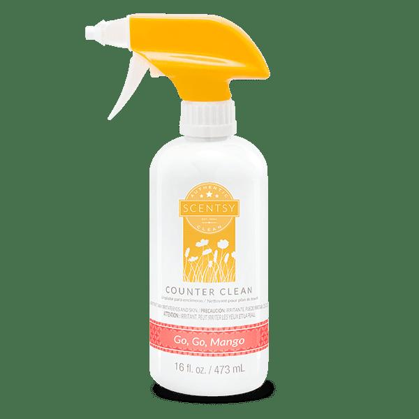 Go, Go, Mango Counter Clean