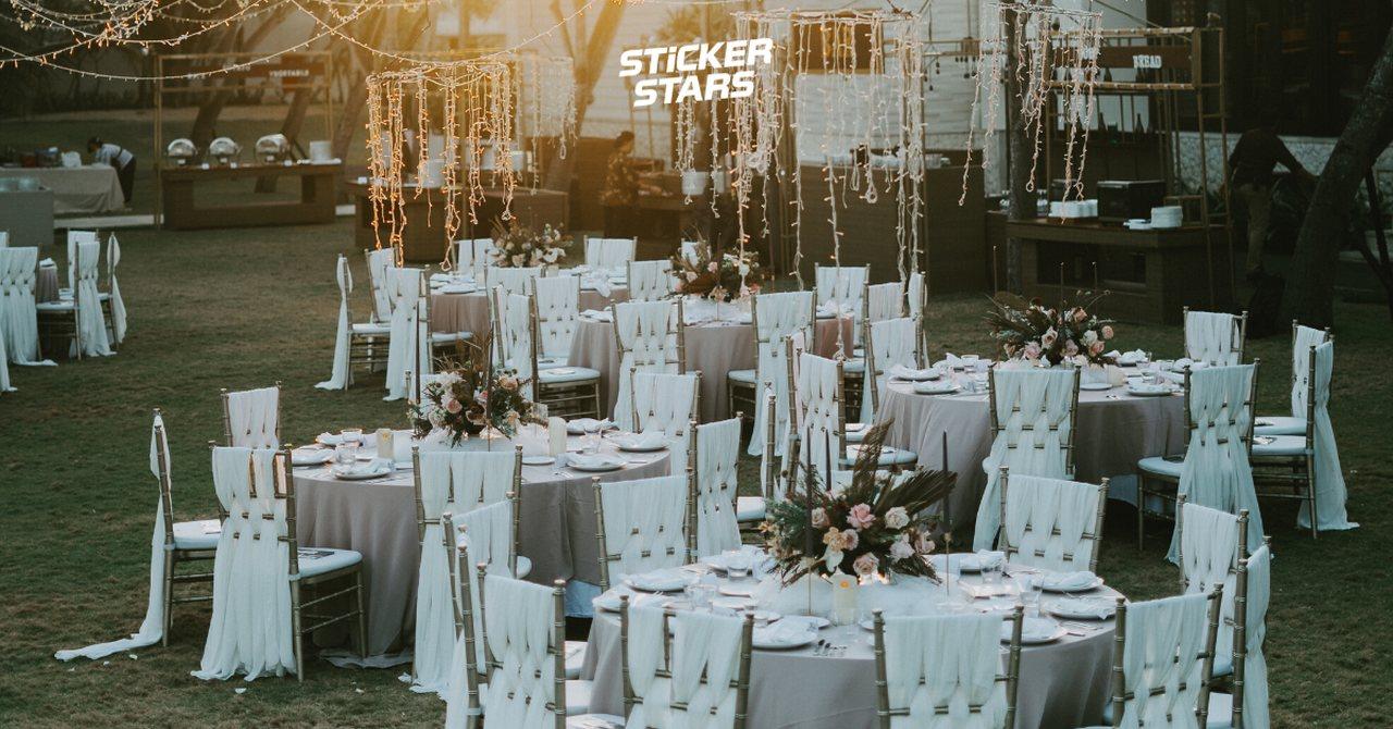 Auch die Location hat Einfluss auf die Gästeliste zur Hochzeit.