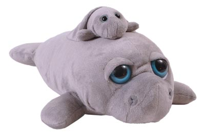 "The Petting Zoo: 16"" Pocketz Manatee"