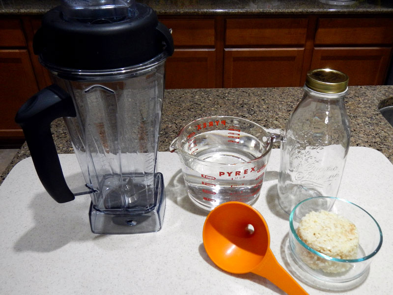 Rice Milk Set Up