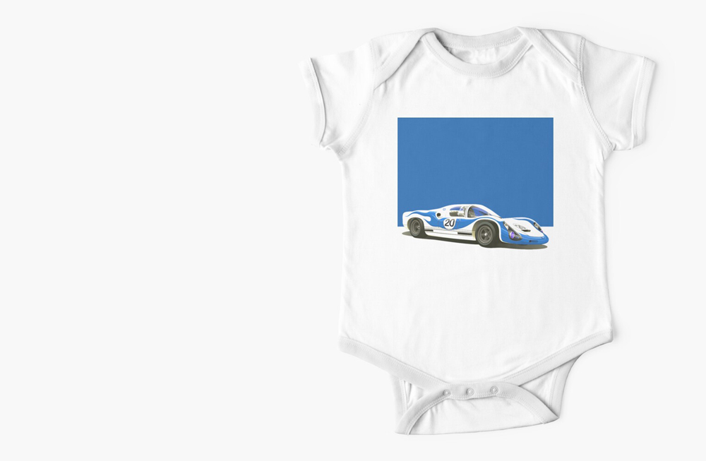 Short Sleeve Baby One-Pieces by thespeedart