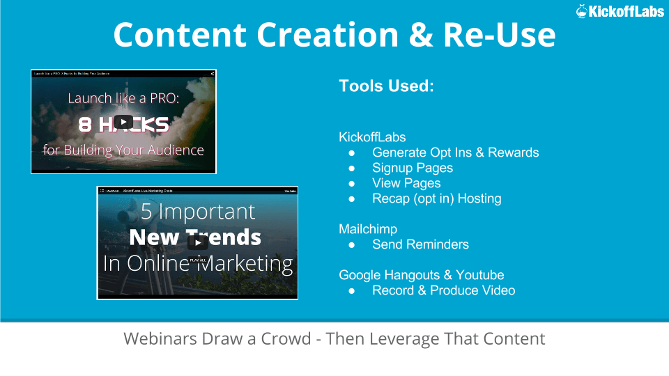 Content Creation and Reuse