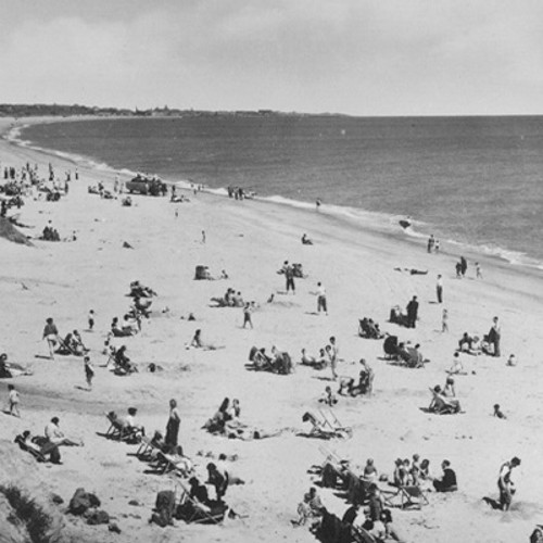 """""""I first visited in 1947 and took part in sandcastle competitions and Potters was like magic land as a child"""" – Margaret Jarvis"""
