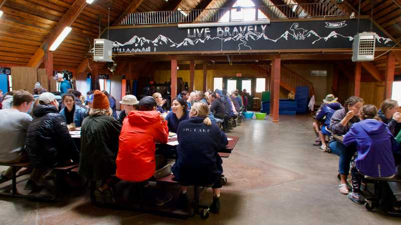 Big Lake Youth Camp Dining Hall