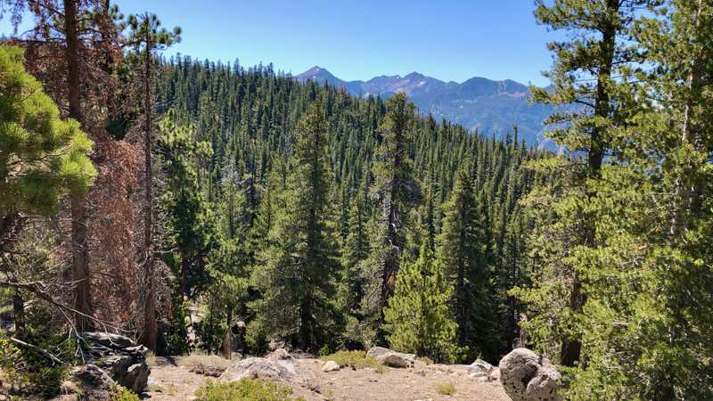 Silver Peak, Sharktooth Peak, and Double Peaks