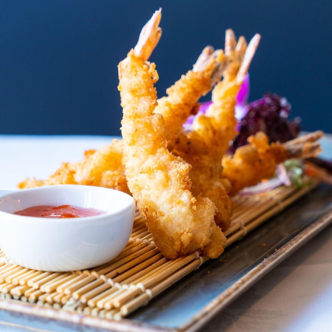 Fried food at Thai Edge Leeds