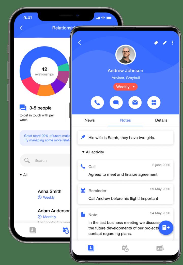 Multiple in-app screens