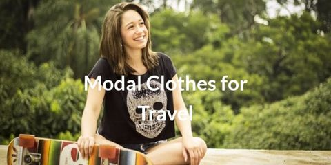 Modal is ultra-thin, super-light and super-smooth. It feels like a second skin and is perfect for clothing like underwear, shirt etc.