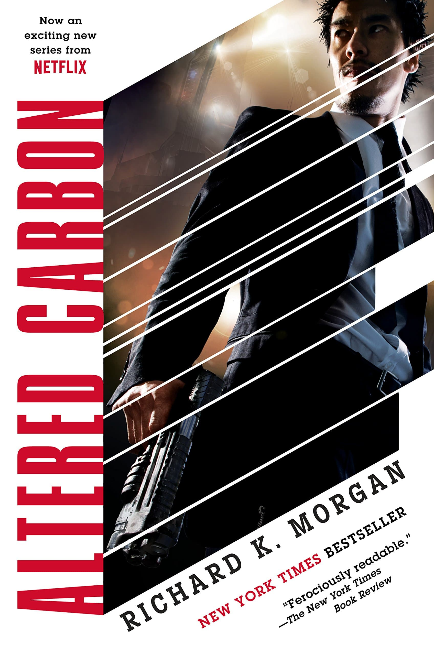 The cover of Altered Carbon