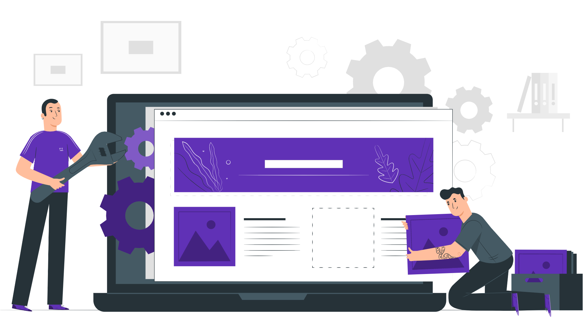 Image of site builder