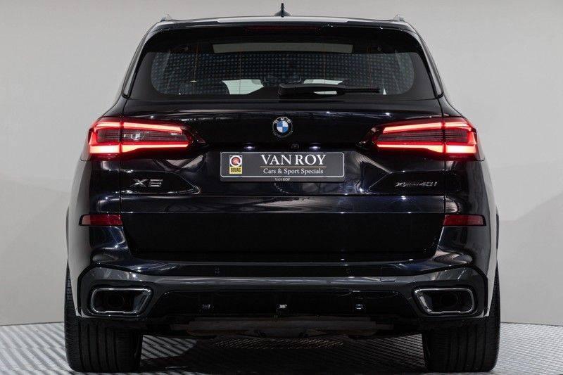 "BMW X5 M40i xDrive 340pk Panoramadak VirtualCockpit ShadowLine Sportleder+Memory Head-Up Hifi Luchtvering ACC Laserlicht AmbientLight Keyless Sportuitlaat 22"" 360Camera ParkAssist Pdc afbeelding 18"