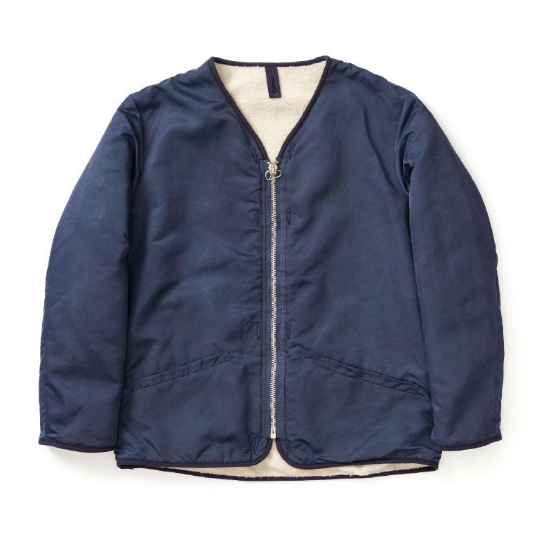 Indigo liner-jacket