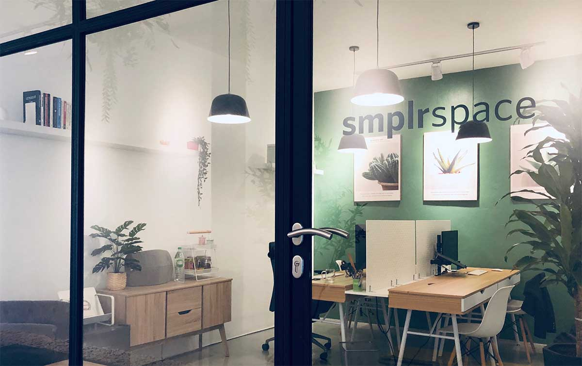 Smplrspace's first office space, a small PropTech company in the making