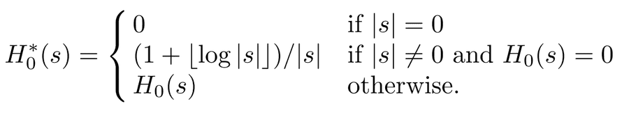 0-th order entropy for highly compressible strings