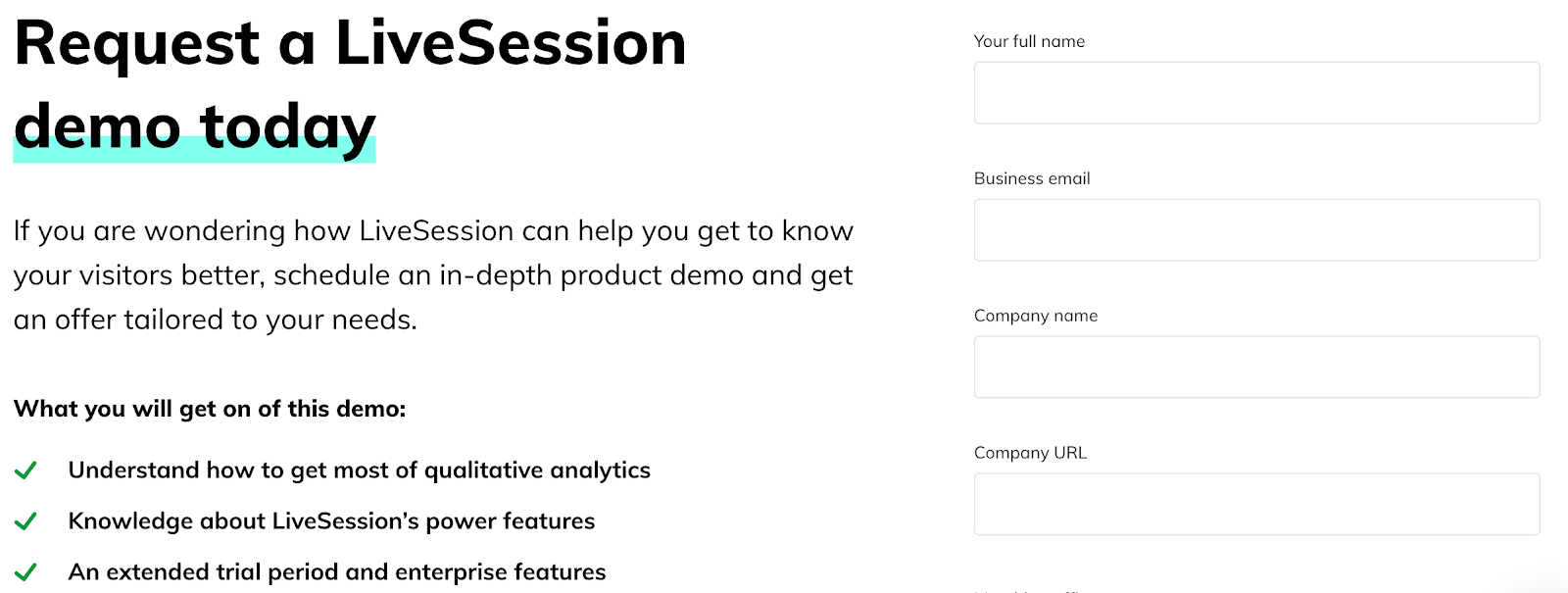 example of lead - LiveSession
