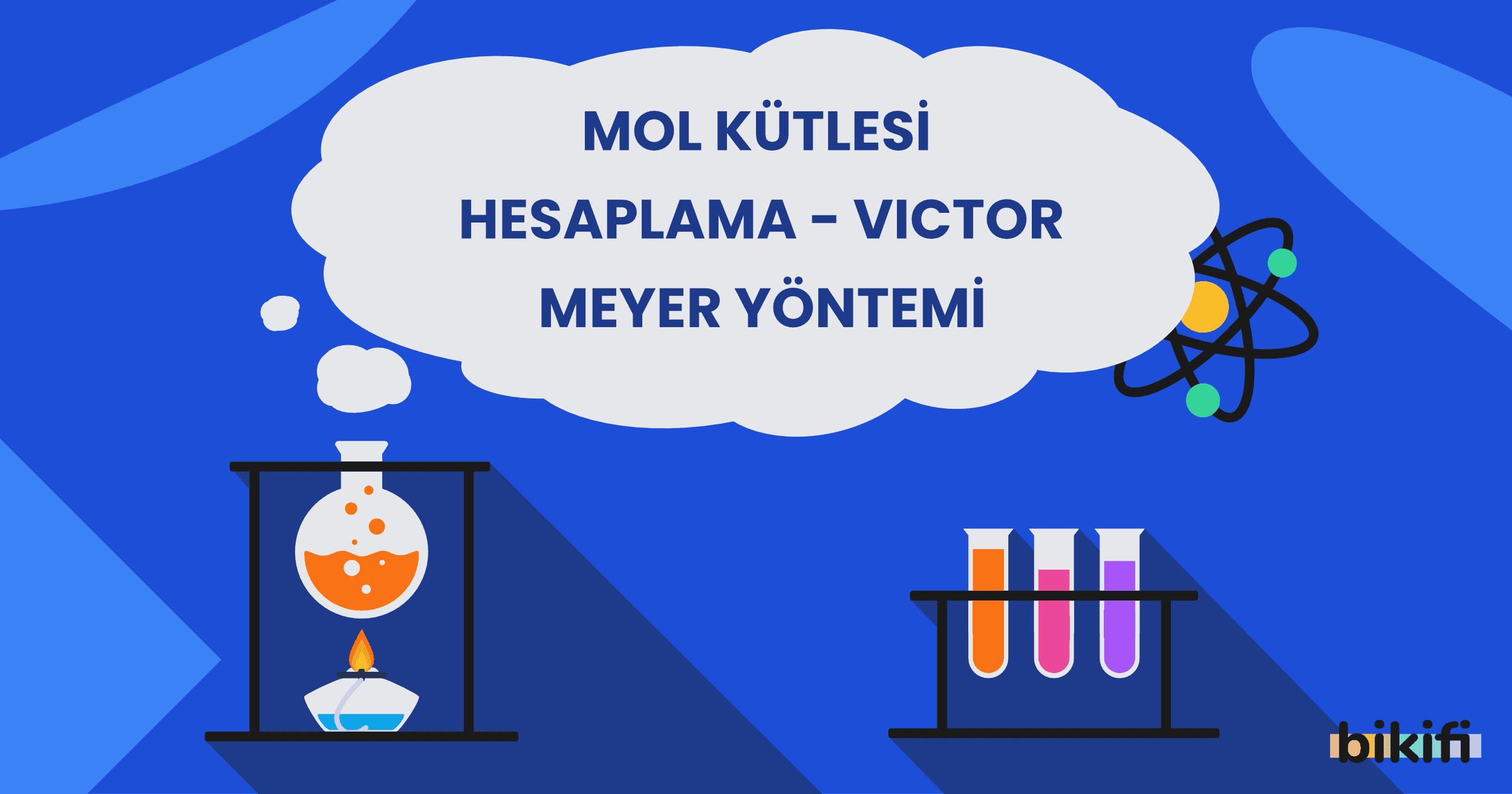 Mol Kütlesi Hesaplama – Victor-Meyer Yöntemi